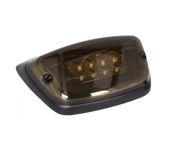 LED taillight black, E-approved for Vespa LX / LXV