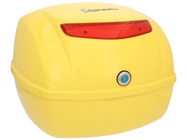 Original top box Vespa LX / S - yellow 928/A