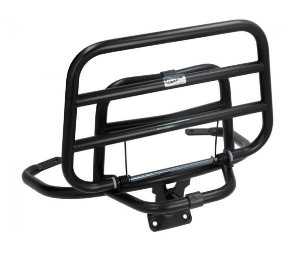 Original Vespa Rear Folding Rack Black Matt Vespa LX / S