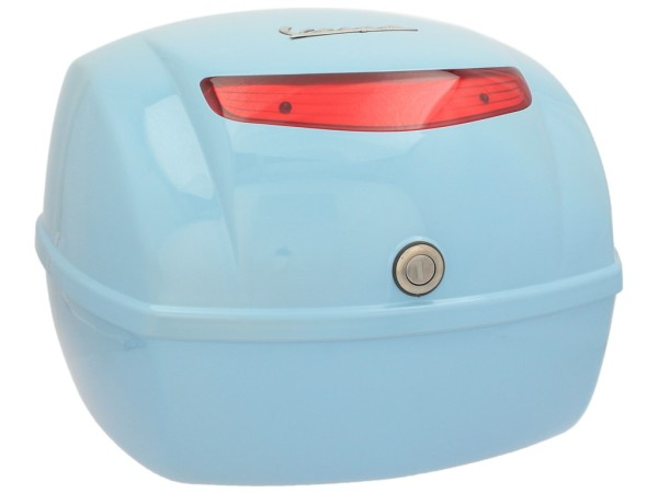 Original top box Vespa LX / S - blue capri 231/A