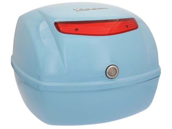 Original top box Vespa LX / S - sky blue 241/A