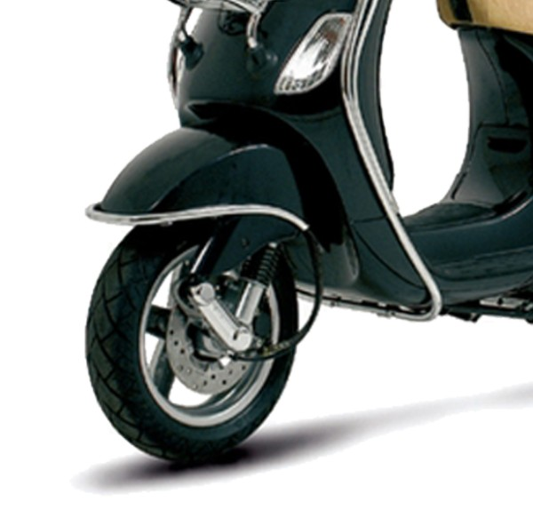 Original bumpers for the front mudguard in chrome Vespa LX / LXV