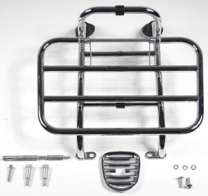 Original foldable Front Carrier Chrome Vespa LX