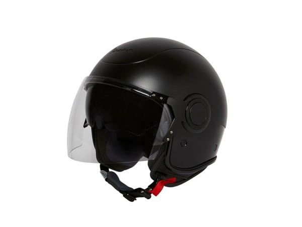 92c30cf59930b Vespa VJ Double Black Helmet - (Notte Edition)